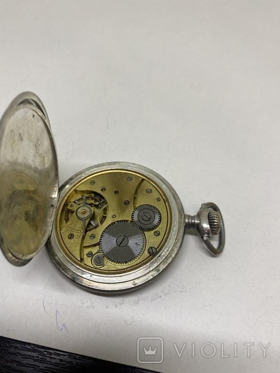 Часы карманные серебро 84пр, фото №10