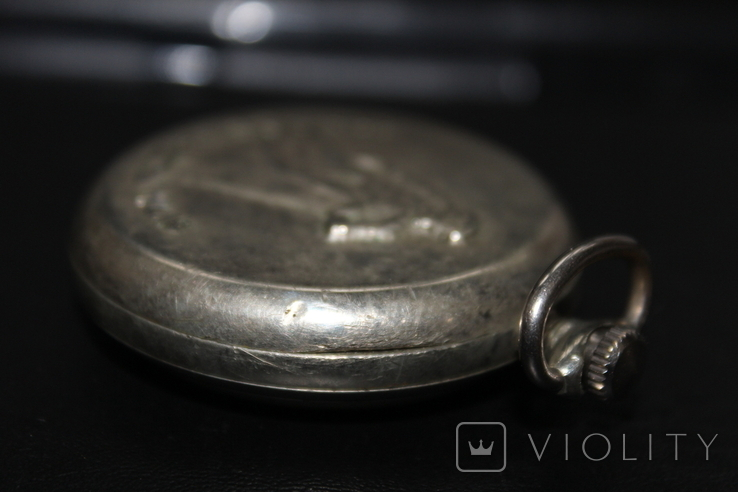 Карманные часы Молния СССР Сказ об Урале, фото №6
