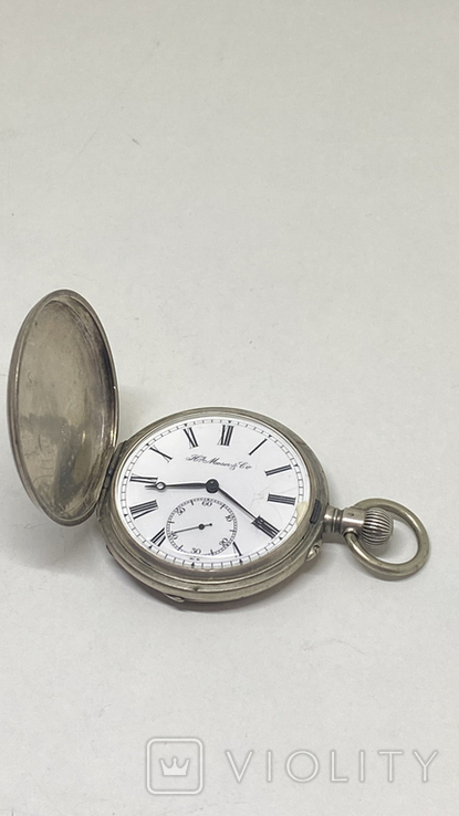 Часы карманные часы H.Mozer 84пр, фото №3