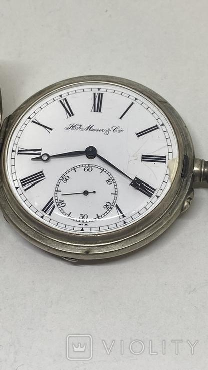 Часы карманные часы H.Mozer 84пр, фото №4