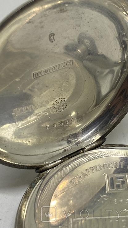 Часы карманные часы H.Mozer 84пр, фото №8
