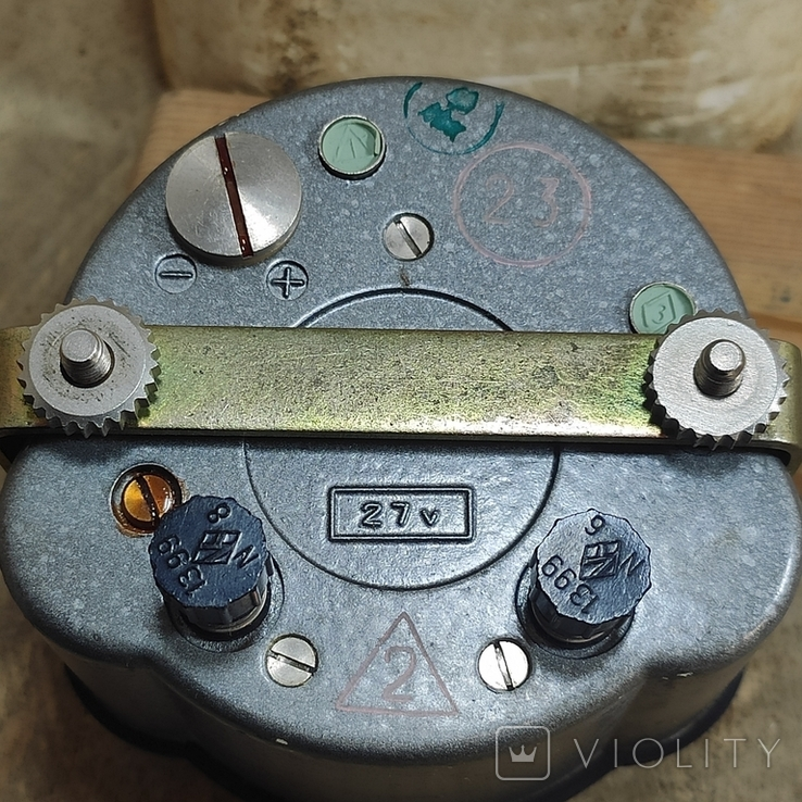 Часы АЧС-1 на ходу с пломбами в коробке., фото №3