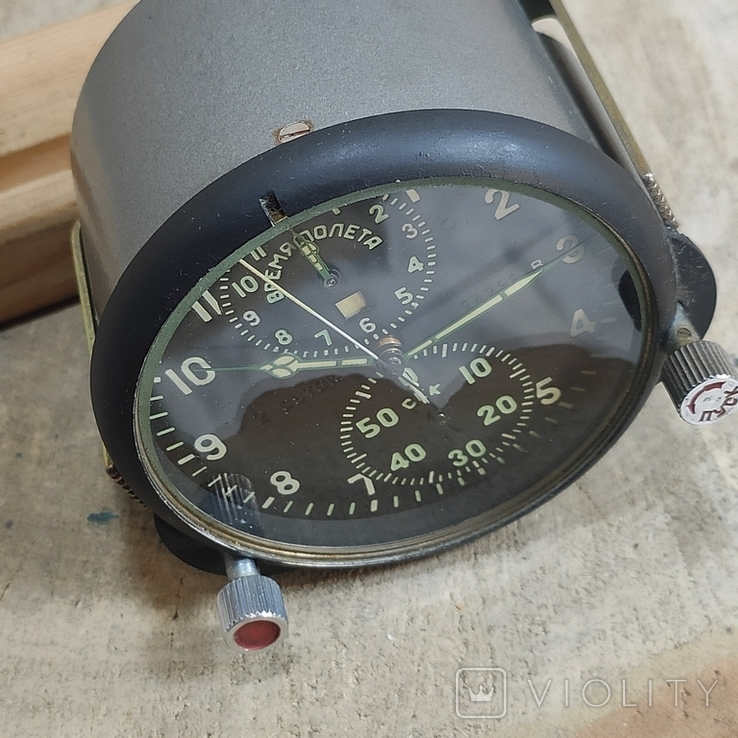Часы АЧС-1 на ходу с пломбами в коробке., фото №8