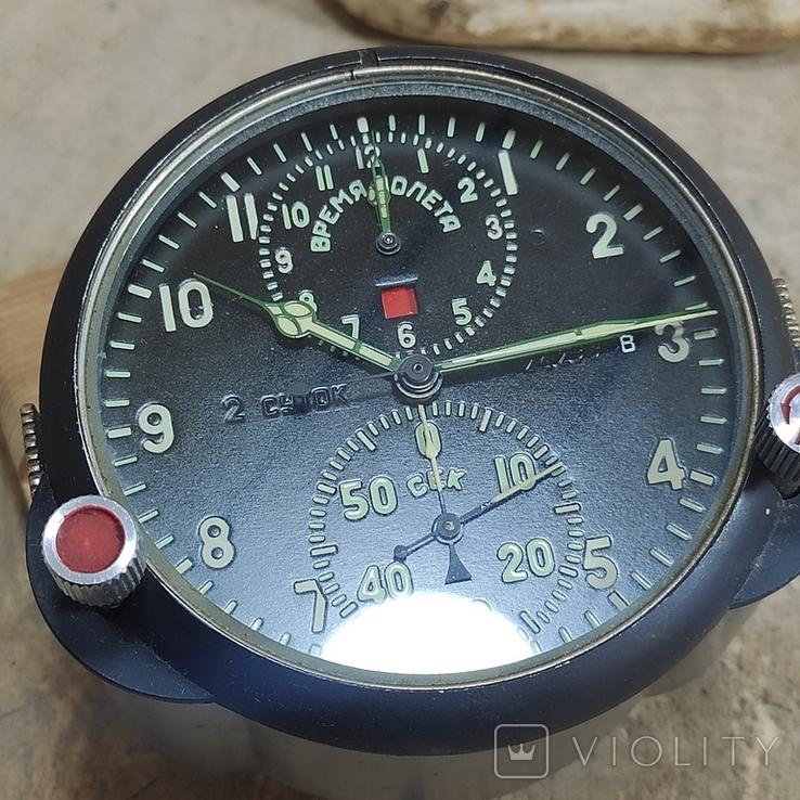 Часы АЧС-1 на ходу с пломбами в коробке., фото №10