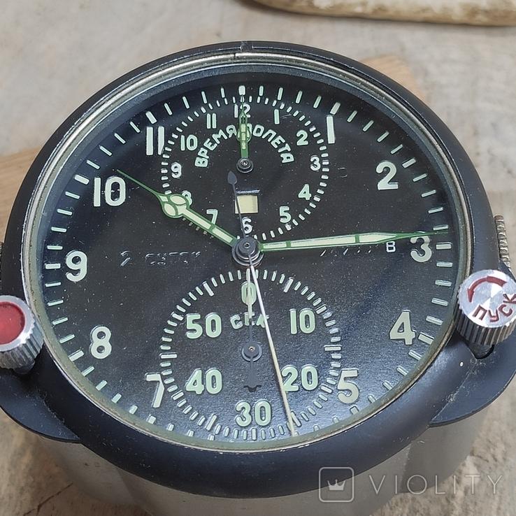 Часы АЧС-1 на ходу с пломбами в коробке., фото №11