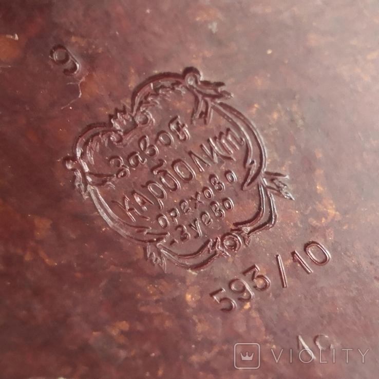 Настольная лампа НКВД, карболит, фото №9