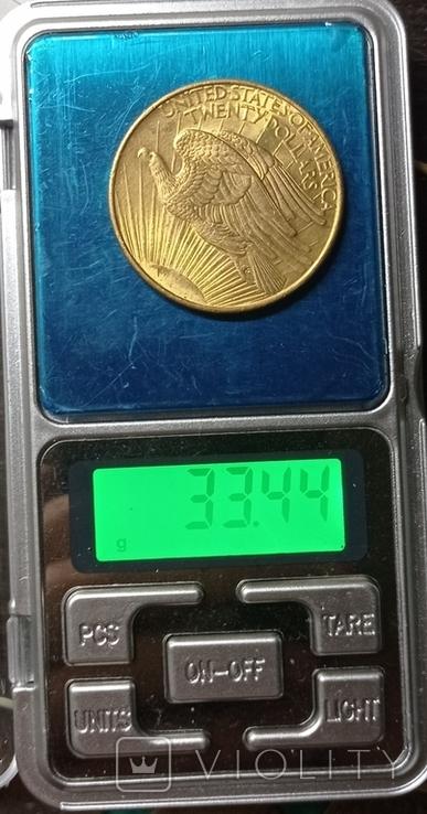 20 долларов 1908, фото №7