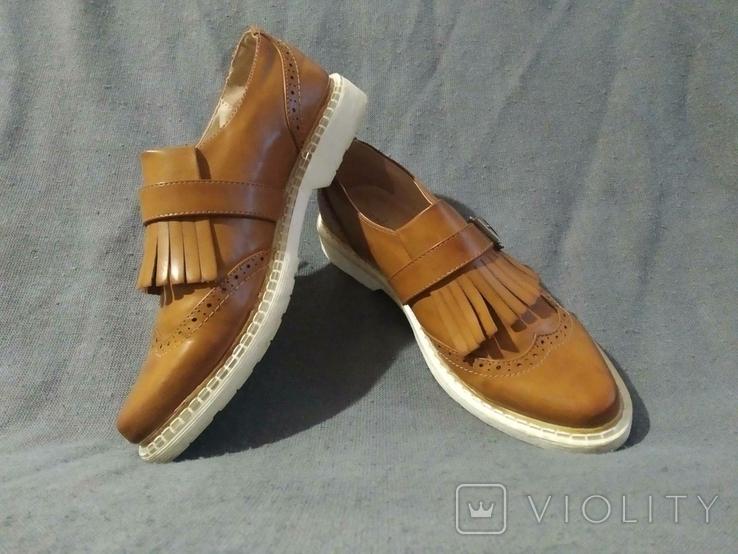 Туфли PRIMADONA кожаные 38, фото №4