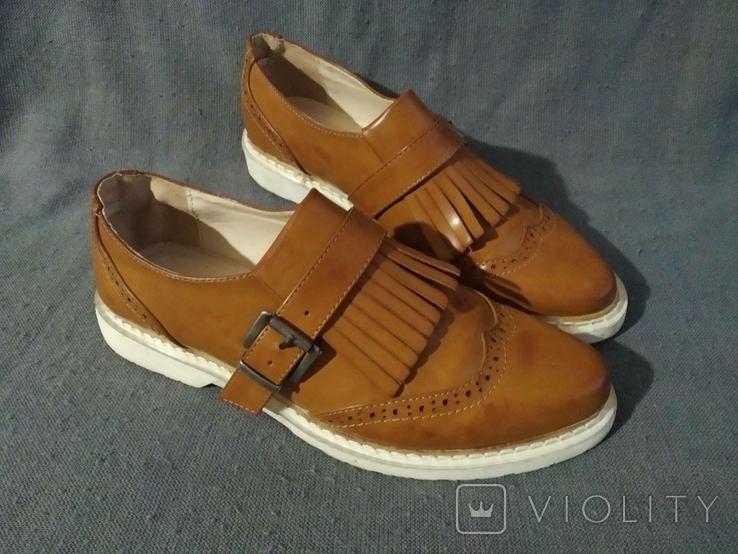 Туфли PRIMADONA кожаные 38, фото №8