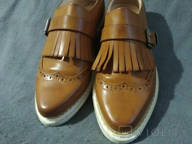 Туфли PRIMADONA кожаные 38, фото №2