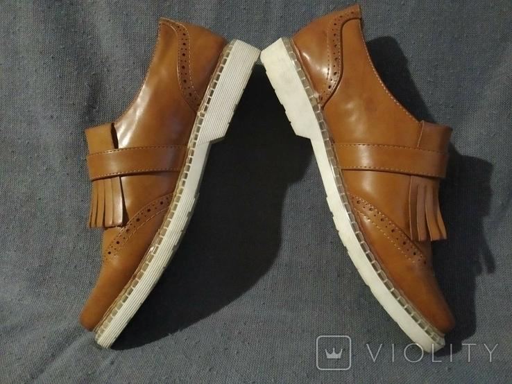 Туфли PRIMADONA кожаные 38, фото №9