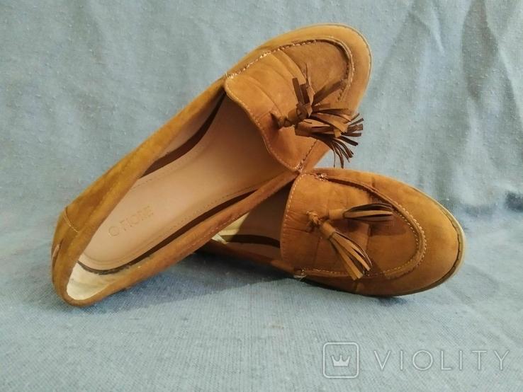 Туфли FIORE из Англии Замша 37 размера, фото №6