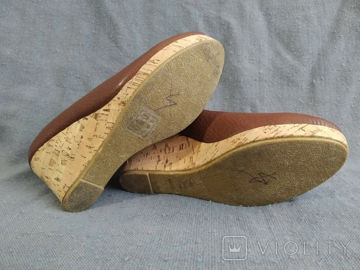 Туфли Корок Кожа TU из Англии 38 размер, фото №4