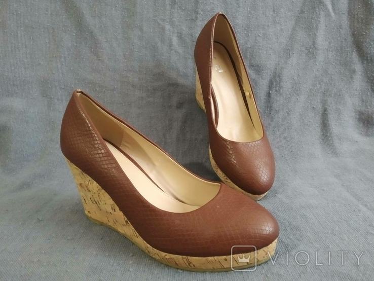Туфли Корок Кожа TU из Англии 38 размер, фото №6