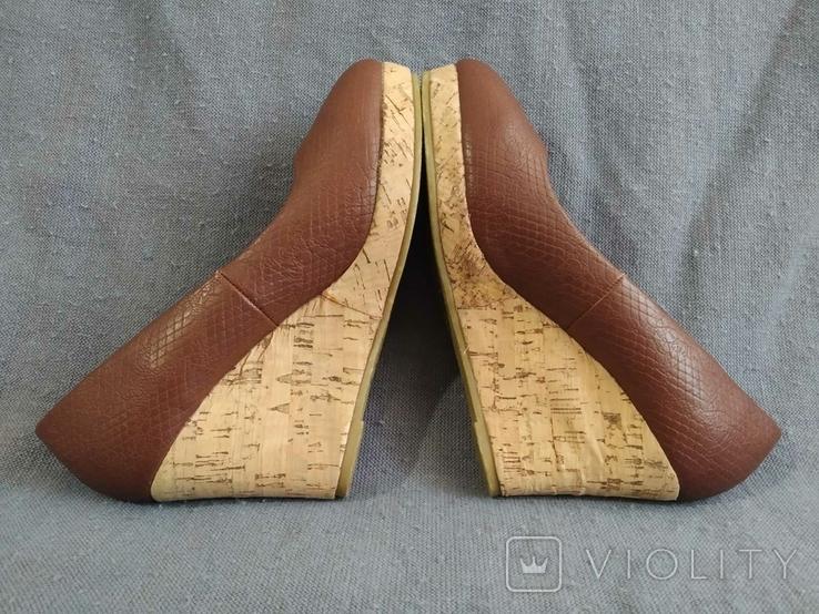 Туфли Корок Кожа TU из Англии 38 размер, фото №7