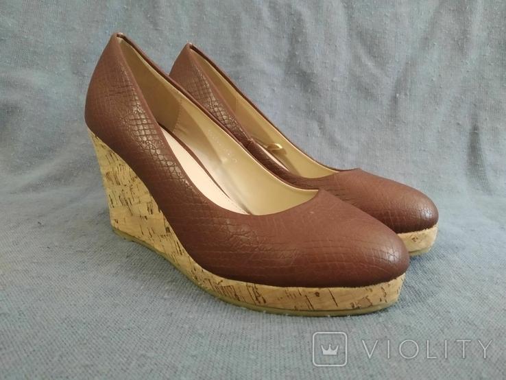 Туфли Корок Кожа TU из Англии 38 размер, фото №2