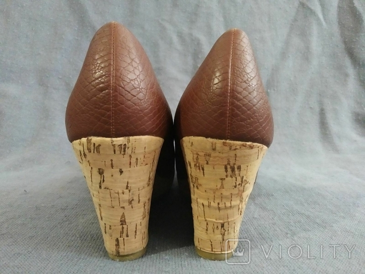 Туфли Корок Кожа TU из Англии 38 размер, фото №9