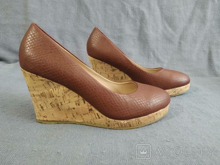 Туфли Корок Кожа TU из Англии 38 размер, фото №3