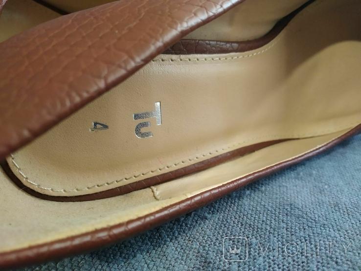 Туфли Корок Кожа TU из Англии 38 размер, фото №12
