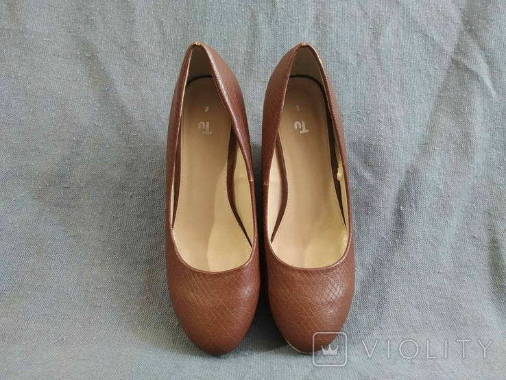 Туфли Корок Кожа TU из Англии 38 размер, фото №13