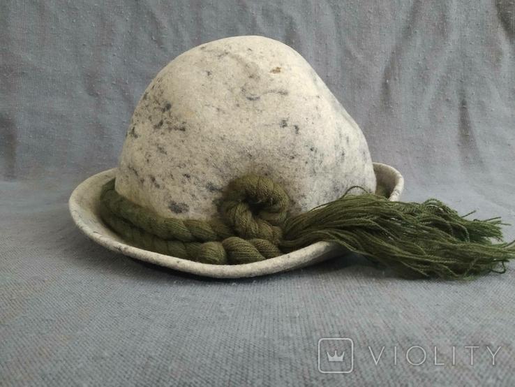 Винтажная альпийская шляпа Германия, фото №3