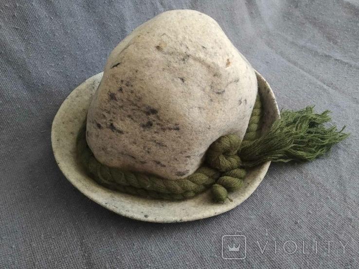 Винтажная альпийская шляпа Германия, фото №2