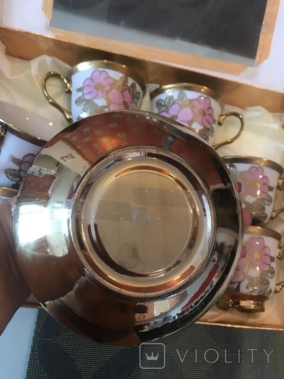 Набор чайный-кофейный, 6 персон, новый, фото №4