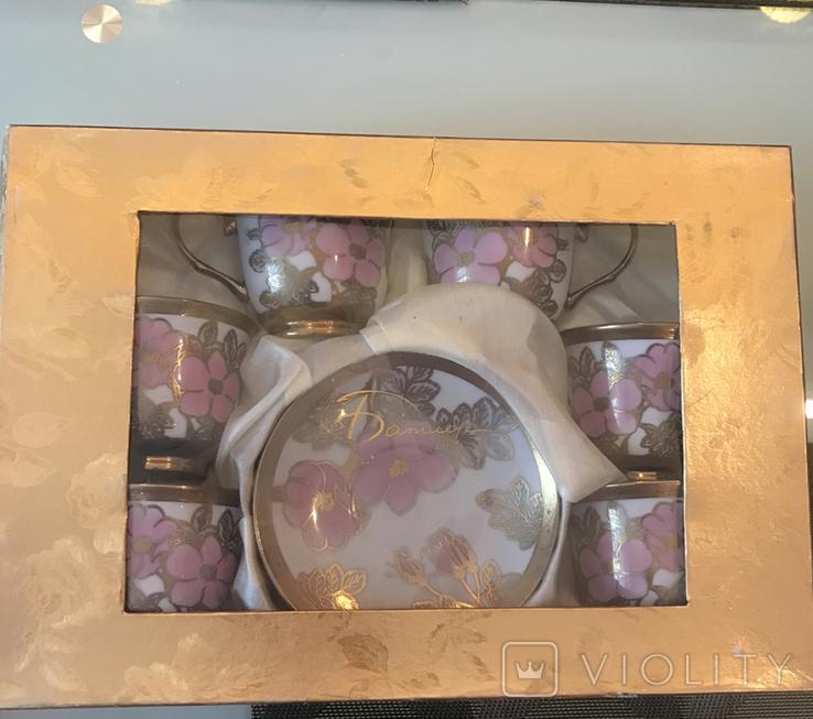 Набор чайный-кофейный, 6 персон, новый, фото №7