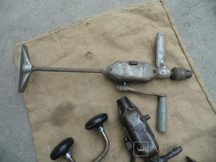 Ручная дрель ссср 5 шт у лоті, фото №6