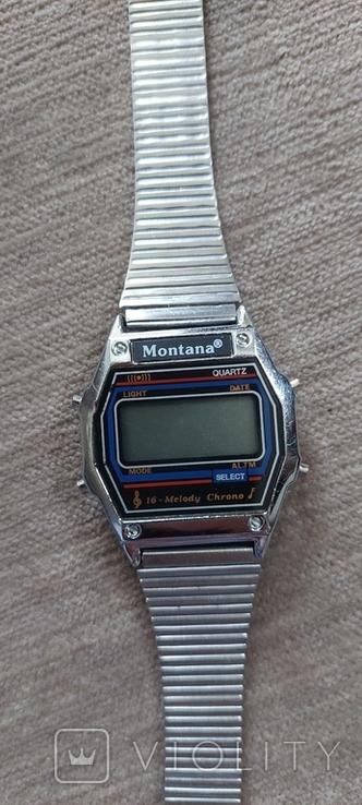 """Часы """"Монтана"""". Оригинальный браслет. Рабочие, с мелодиями., фото №4"""