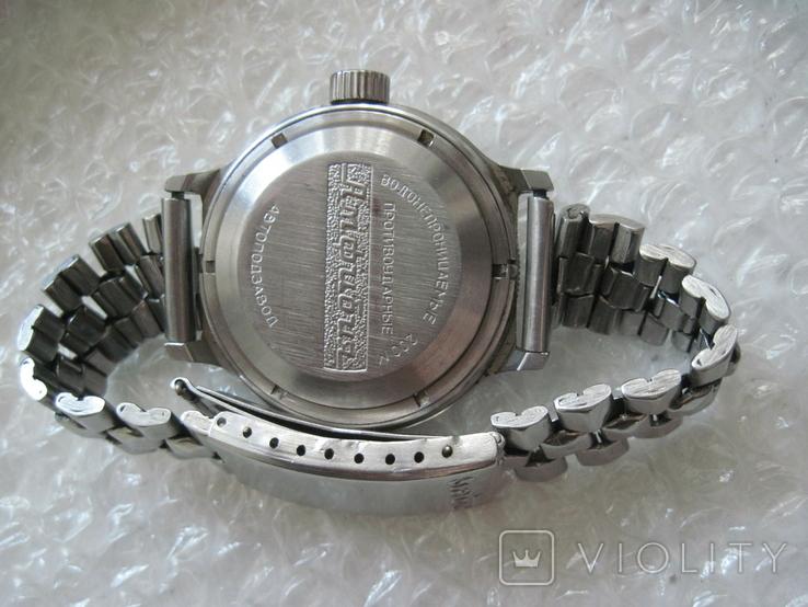 Часы Восток Амфибия противоударные водонепроницаемые 200 м на ходу, фото №3