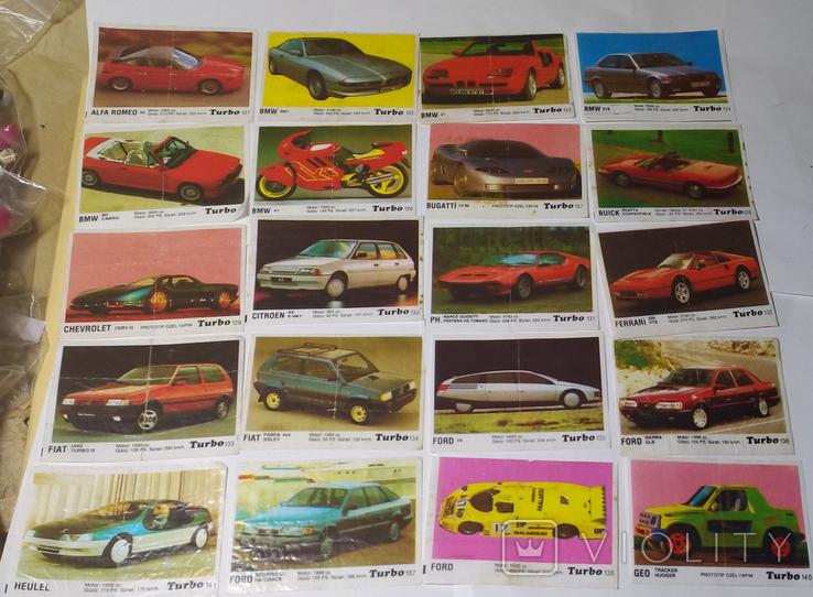 40 вкладышей Turbo, фото №2