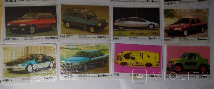 40 вкладышей Turbo, фото №4
