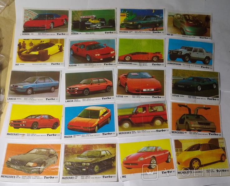 40 вкладышей Turbo, фото №5