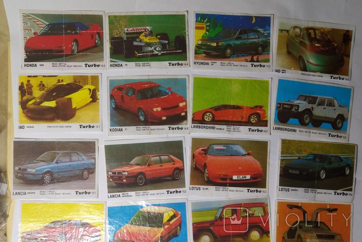 40 вкладышей Turbo, фото №6