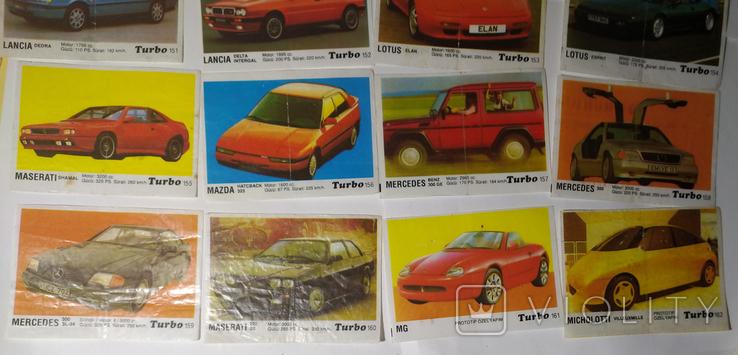 40 вкладышей Turbo, фото №7