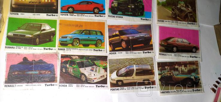 29 вкладышей Turbo, фото №3