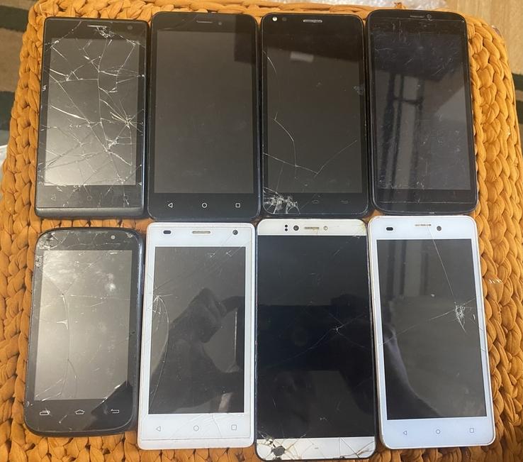 Лот 8 смартфонів Prestigio wize psp, фото №2