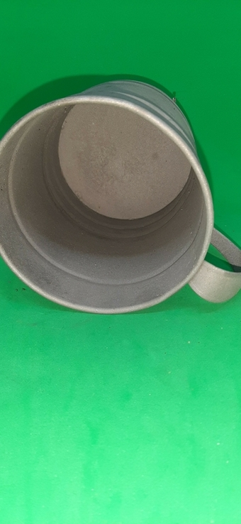 Чашка металл большая, фото №3