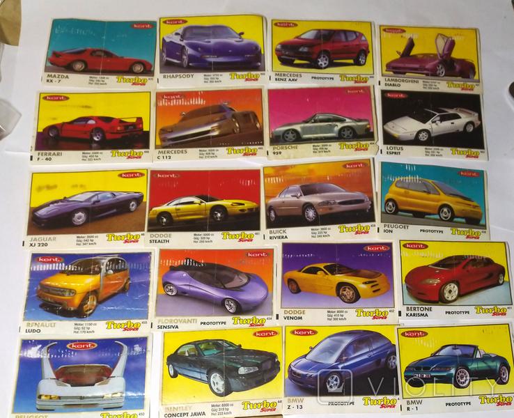 40 вкладышей Turbo Super, фото №2