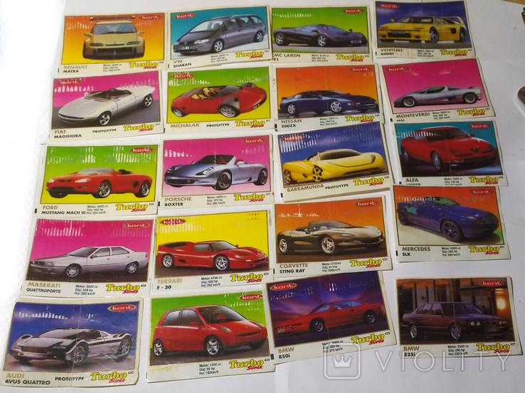 40 вкладышей Turbo Super, фото №5