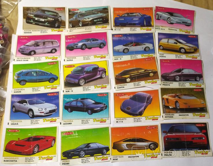 25 вкладышей Turbo Super, фото №2