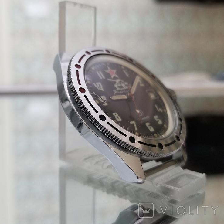 Часы Восток Командирские СССР (на ходу), фото №3