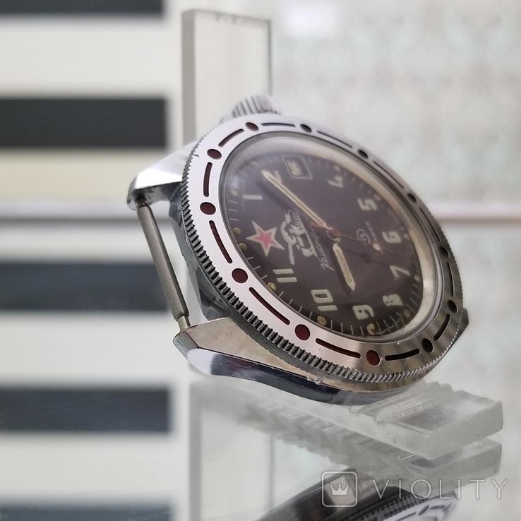 Часы Восток Командирские СССР (на ходу), фото №4