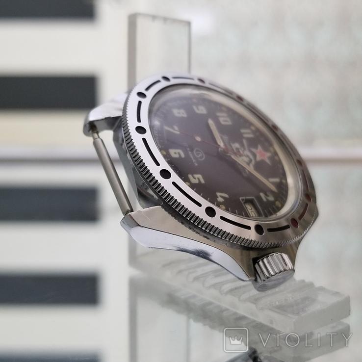 Часы Восток Командирские СССР (на ходу), фото №6