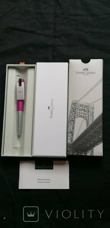 Ручка FABER-CASTELL шариковая., фото №2
