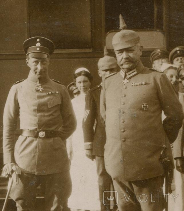 Германская Империя. Кронпринц и Гинденбург, фото №2