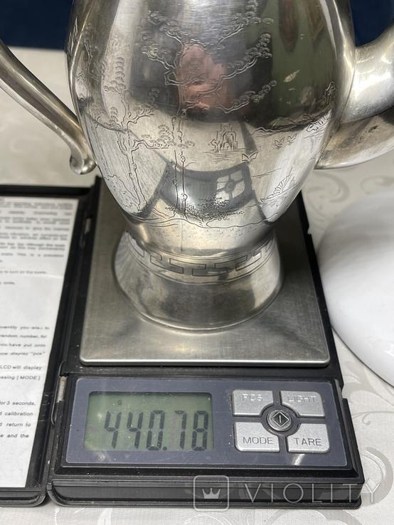 Чайник 875 пробы, фото №9