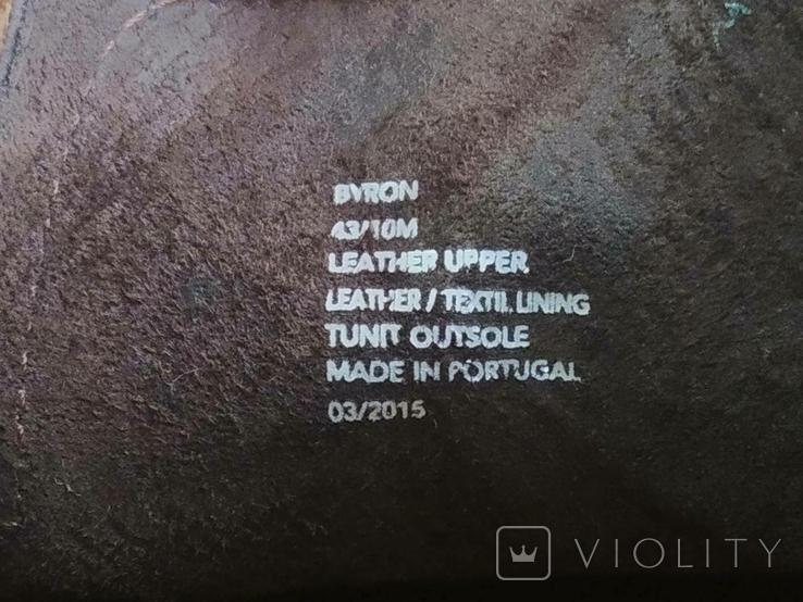 Туфли кожаные Clarks Португалия Инспектор 43 Кожа Ботинки, фото №3