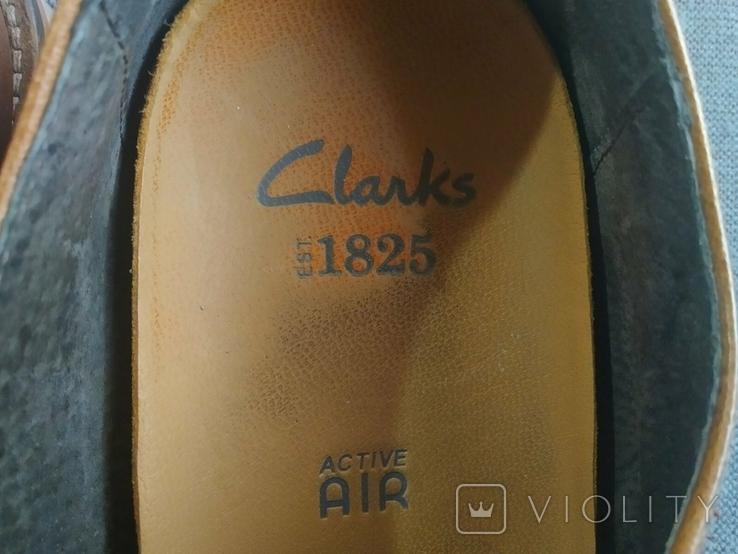 Туфли кожаные Clarks Португалия Инспектор 43 Кожа Ботинки, фото №5
